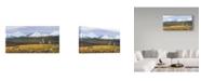 "Trademark Global Wilhelm Goebel 'Time Passages Mountain Caribou' Canvas Art - 10"" x 19"""