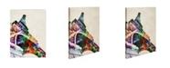 """Trademark Global Michael Tompsett 'Eiffel Tower' Canvas Art - 14"""" x 19"""""""