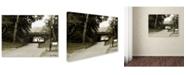 "Trademark Global Miguel Paredes 'Passage I' Canvas Art - 14"" x 19"""