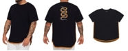 Mvp Collections By Mo Vaughn Productions MVP Collections Big and Tall Snake Back Applique Hi-Lo Tee