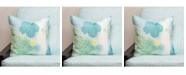 """Siscovers Cubana 16"""" Designer Throw Pillow"""