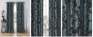 """Duck River Textile Nellie 38"""" x 84"""" Floral Jacquard Curtain Set"""