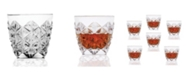 Lorren Home Trends Enigma Collection Double Old Fashion - Set of 6