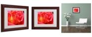 """Trademark Global Monica Fleet 'Empowering Heart' Matted Framed Art - 14"""" x 11"""""""