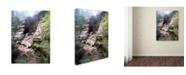 """Trademark Global Monica Fleet 'Powerful Walls' Canvas Art - 14"""" x 19"""""""