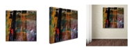 "Trademark Global Nicole Dietz 'Entitled' Canvas Art - 14"" x 14"""