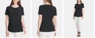 DKNY Short-Sleeve Knot T-Shirt