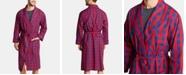 Nautica Men's Cotton Plaid Shawl Robe