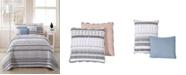 Geneva Home Fashion Prescott 4-pc Twin Reversible Quilt Set