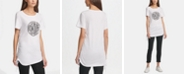 DKNY Ruched Logo Top