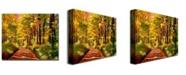 "Trademark Global David Lloyd Glover 'Silence is Golden' Canvas Art - 32"" x 26"""