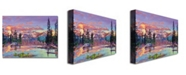"Trademark Global David Lloyd Glover 'Evening Serenity' Canvas Art - 32"" x 24"""