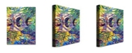 "Trademark Global David Lloyd Glover 'Stone Footbridge' Canvas Art - 24"" x 18"""