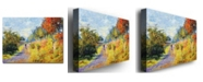 "Trademark Global David Lloyd Glover 'The Sheltered Path' Canvas Art - 24"" x 18"""
