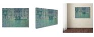 "Trademark Global Claude Monet 'Palazzo da Mula Venice 1908' Canvas Art - 32"" x 24"""
