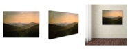 "Trademark Global Caspar David Friedrich 'Dawn' Canvas Art - 24"" x 18"""