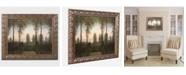 """Trademark Global Caspar Friedrich 'Remembrance of Johann' Ornate Framed Art - 14"""" x 11"""""""