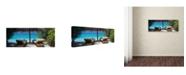 "Trademark Global David Evans 'Seclusion' Canvas Art - 19"" x 6"""