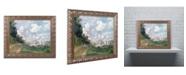 "Trademark Global Monet 'The Marina at Argenteuil 1872' Ornate Framed Art - 16"" x 20"""