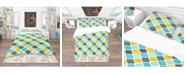 Design Art Designart 'Ornament Geometric Pattern' Bohemian and Eclectic Duvet Cover Set - Twin