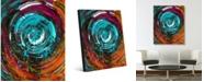 "Creative Gallery Eternity Delta Abstract Portrait Metal Wall Art Print - 16"" x 20"""