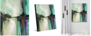 "Creative Gallery Elasha Delta Abstract Portrait Metal Wall Art Print - 20"" x 24"""
