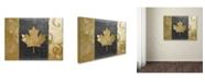 "Trademark Global Color Bakery 'Fashion Flag I' Canvas Art - 14"" x 19"""
