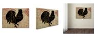 "Trademark Global Color Bakery 'Paris Farms IV' Canvas Art - 35"" x 47"""