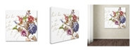 "Trademark Global Color Bakery 'La Belle Vie II' Canvas Art - 18"" x 18"""