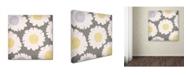 """Trademark Global Color Bakery 'English Garden V' Canvas Art - 24"""" x 24"""""""