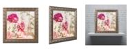 "Trademark Global Color Bakery 'Always Paris II' Ornate Framed Art - 16"" x 16"""