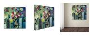 """Trademark Global Carrie Schmitt 'Create Beauty Every Day' Canvas Art - 35"""" x 35"""""""