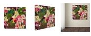 """Trademark Global Carrie Schmitt 'Intuition' Canvas Art - 14"""" x 14"""""""