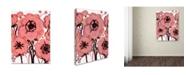 "Trademark Global Natasha Wescoat '007' Canvas Art - 35"" x 47"""