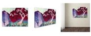 "Trademark Global Natasha Wescoat '031' Canvas Art - 14"" x 19"""