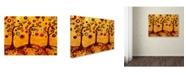 "Trademark Global Natasha Wescoat '082' Canvas Art - 18"" x 24"""