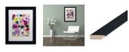 """Trademark Global Carrie Schmitt 'Blooms Have Burst' Matted Framed Art - 11"""" x 14"""""""