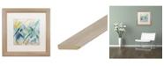 """Trademark Global Carrie Schmitt 'Mile High' Matted Framed Art - 16"""" x 16"""""""