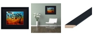 "Trademark Global Natasha Wescoat '144' Matted Framed Art - 16"" x 20"""