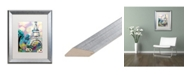 """Trademark Global Natasha Wescoat 'La Dame De Fer' Matted Framed Art - 16"""" x 20"""""""