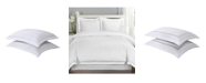 Lux Hotel Baratta Embroidered Standard 2-Pack Pillow Shams