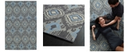 Kaleen Relic RLC06-38 Charcoal 8' x 10' Area Rug