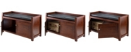 Winsome Charleston 2-Piece Storage Hall Bench Set