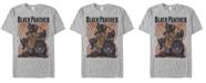 Marvel Men's Comic Collection Black Panther Power Pose Short Sleeve T-Shirt