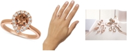 Le Vian Diamond Ring (3/4 ct. t.w.) in 14k Rose Gold & 14k White Gold