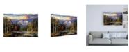"Trademark Global R W Hedge Autumn Repose Canvas Art - 27"" x 33.5"""