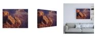 "Trademark Global R W Hedge Lofty Ledges Canvas Art - 19.5"" x 26"""