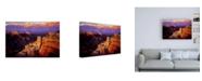 "Trademark Global R W Hedge Symphony Canyon Canvas Art - 36.5"" x 48"""