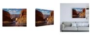"Trademark Global R W Hedge Pristine Sanctuary Canvas Art - 36.5"" x 48"""