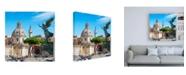 "Trademark Global Philippe Hugonnard Dolce Vita Rome 3 the City of the Italian Angels Canvas Art - 19.5"" x 26"""